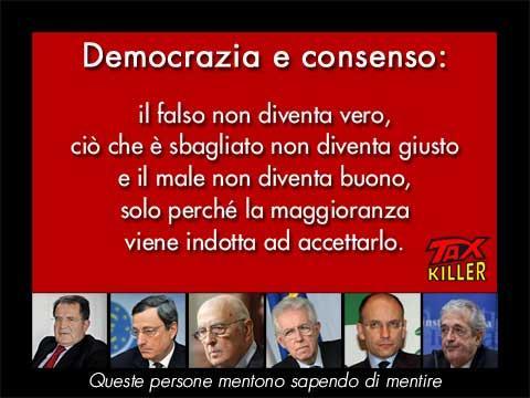 democrazia e consenso