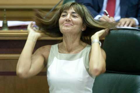 Renata Polverini, Presidente Regione Lazio al tempo dello scandalo